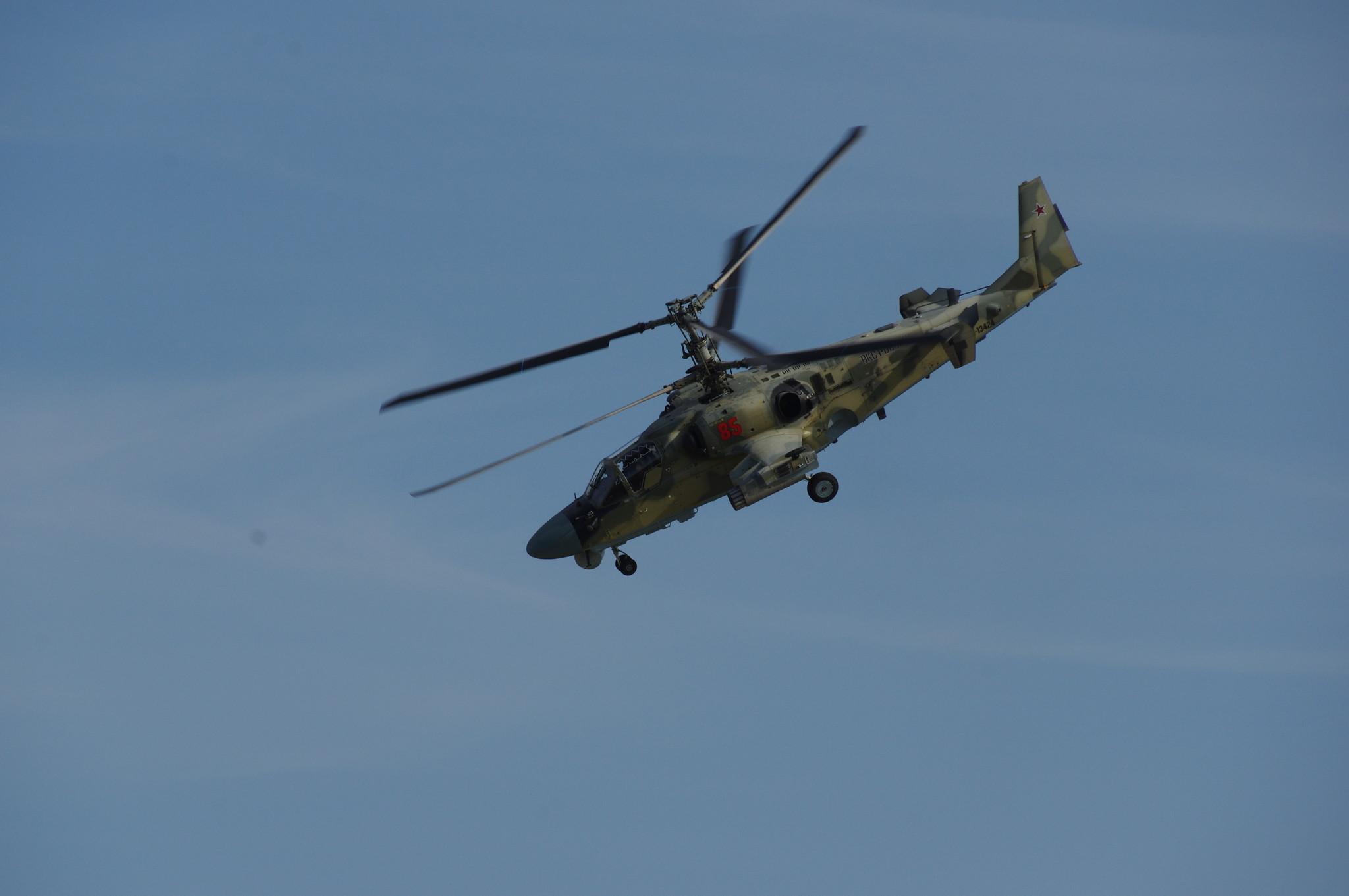 Вертолёт Ка-52