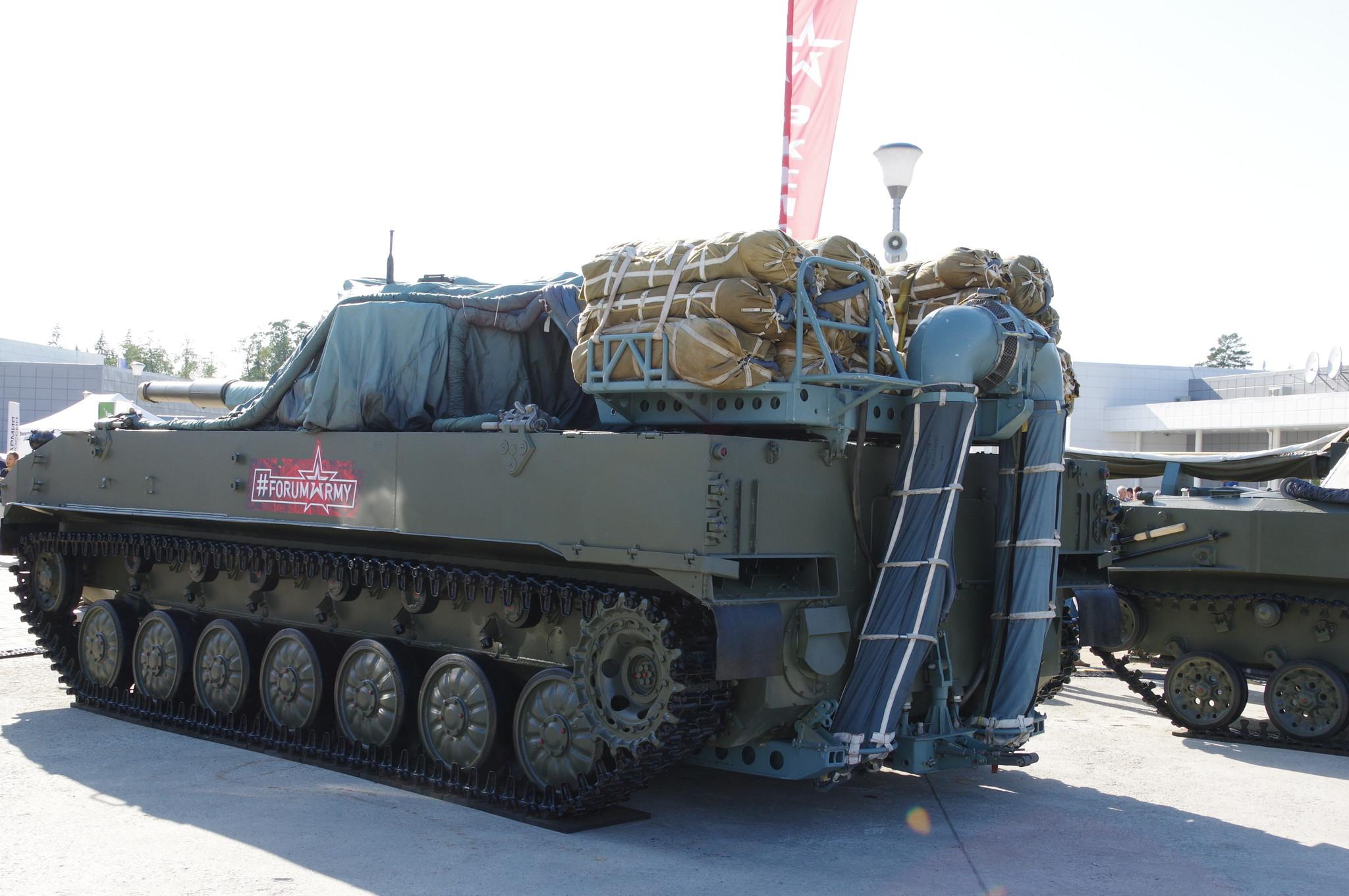 Самоходная противотанковая пушка 2С25 «Спрут-СД»