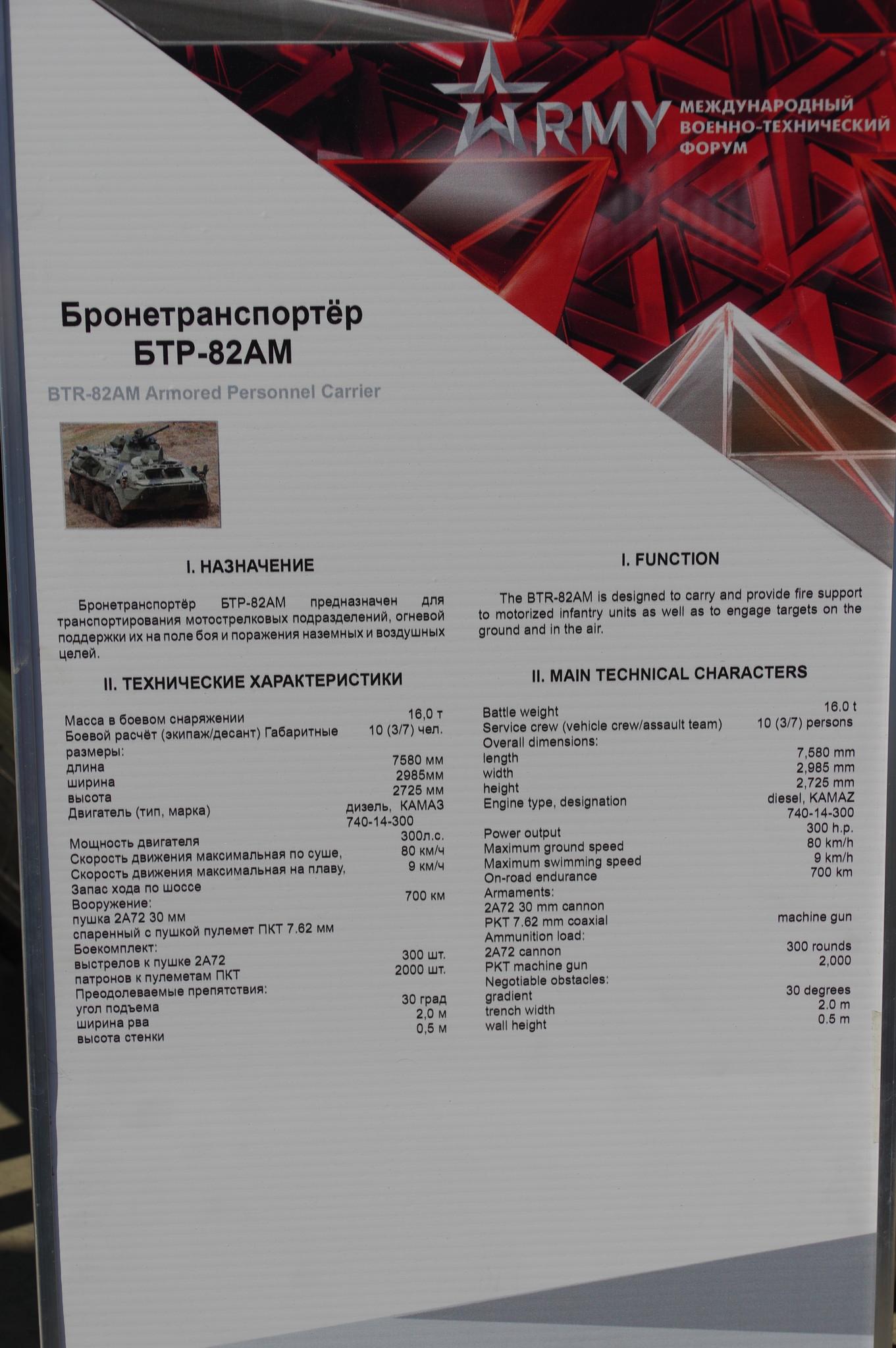 Бронетранспортёр БТР-82АМ