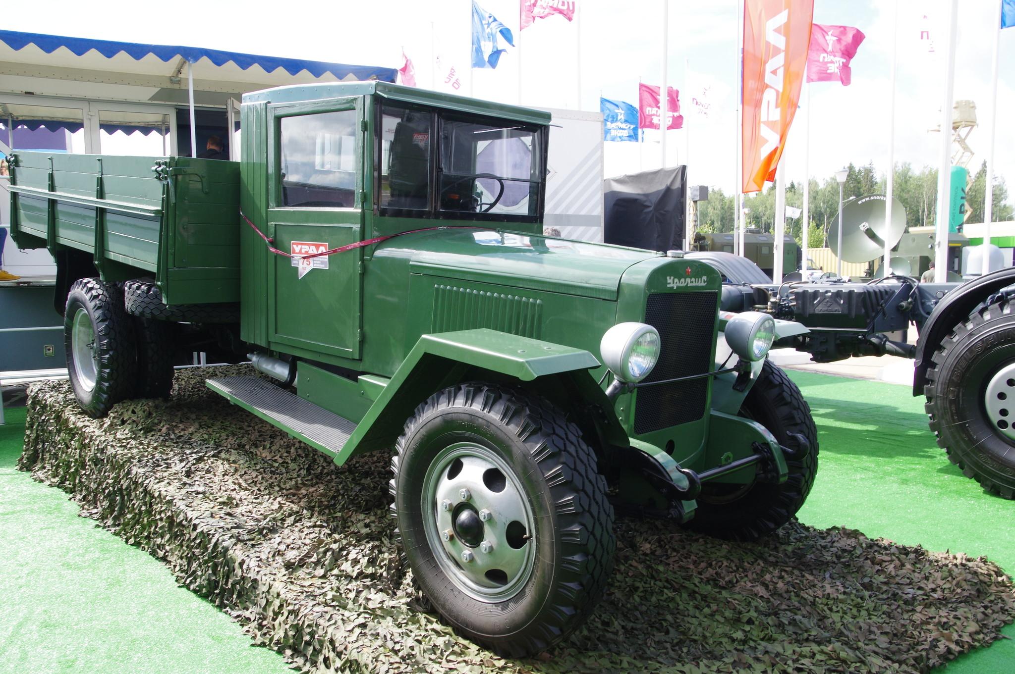 Первый уральский автомобиль ЗИС-5В сошёл с конвейера 8 июля 1944 года