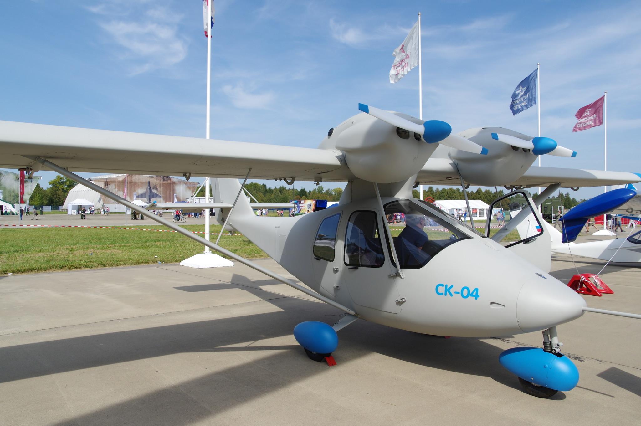 Четырёхместный самолёт «СК-04»