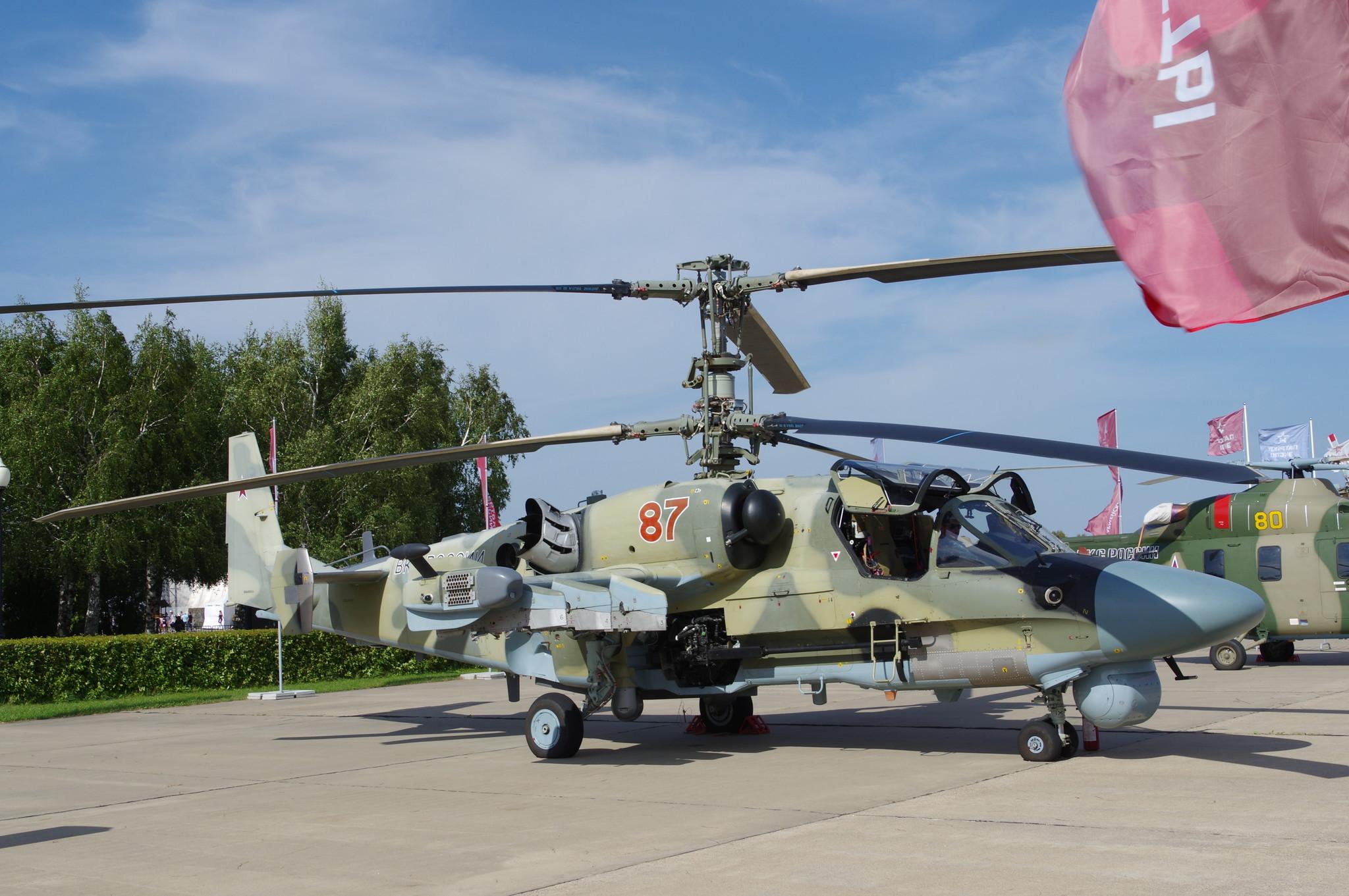 Вертолёт Ка-52 «Аллигатор»