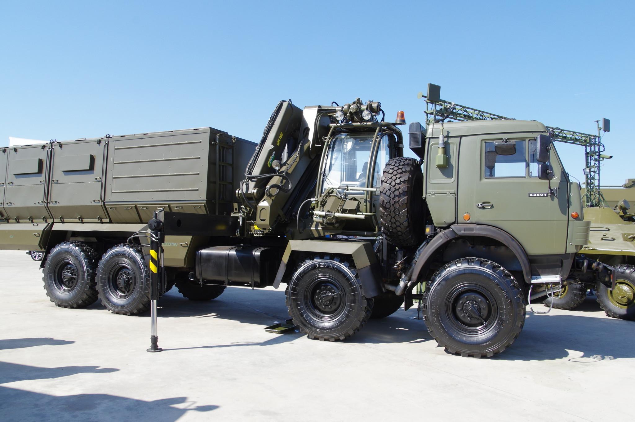 Универсальная станция специальной обработки УССО на шасси КАМАЗ-63501