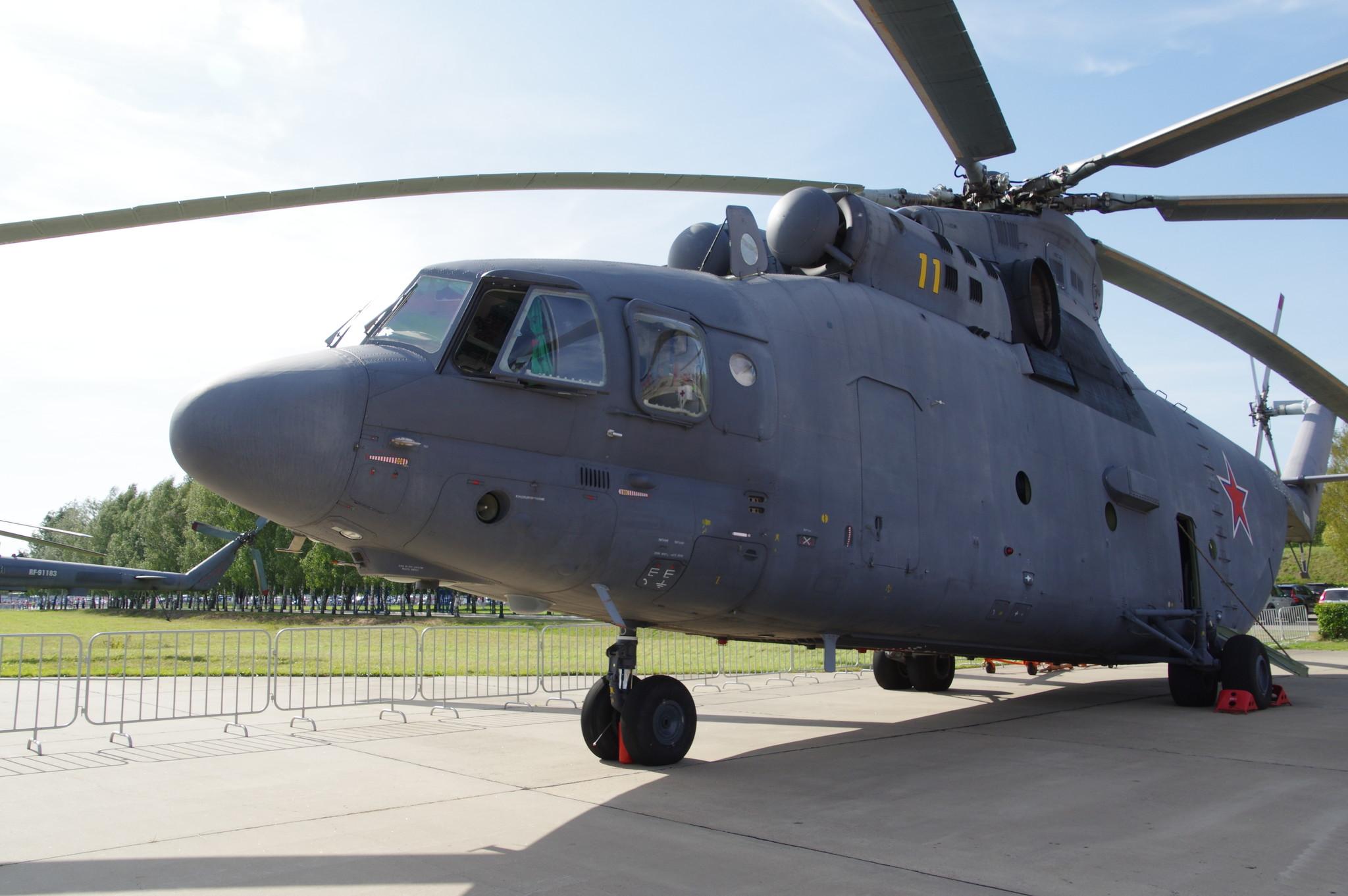 Тяжёлый десантно-транспортный вертолёт Ми-26