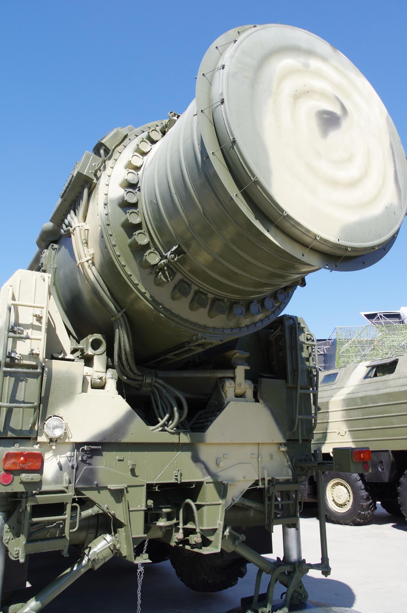 Пусковая установка «Тополь», агрегат 15У168