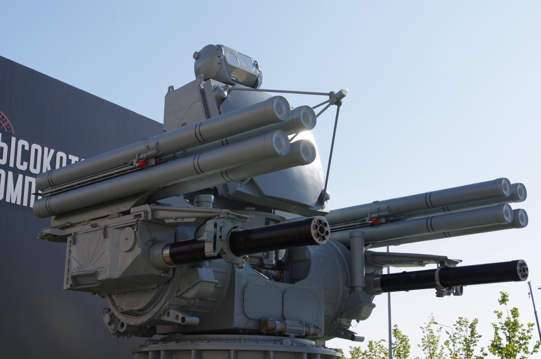 Зенитный ракетно-пушечный комплекс корабельного базирования «Панцирь-МЕ»