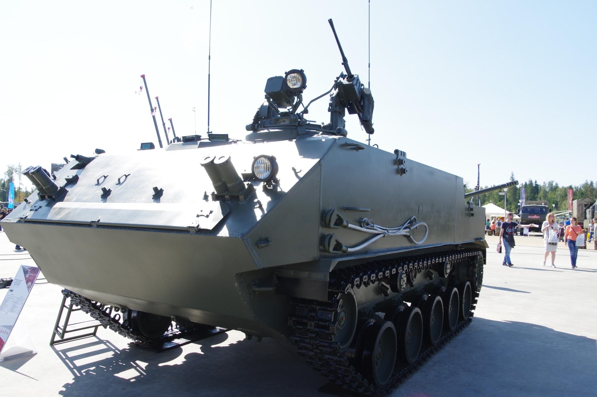 Модернизированный многоцелевой бронетранспортёр ВДВ БТР-МДМ