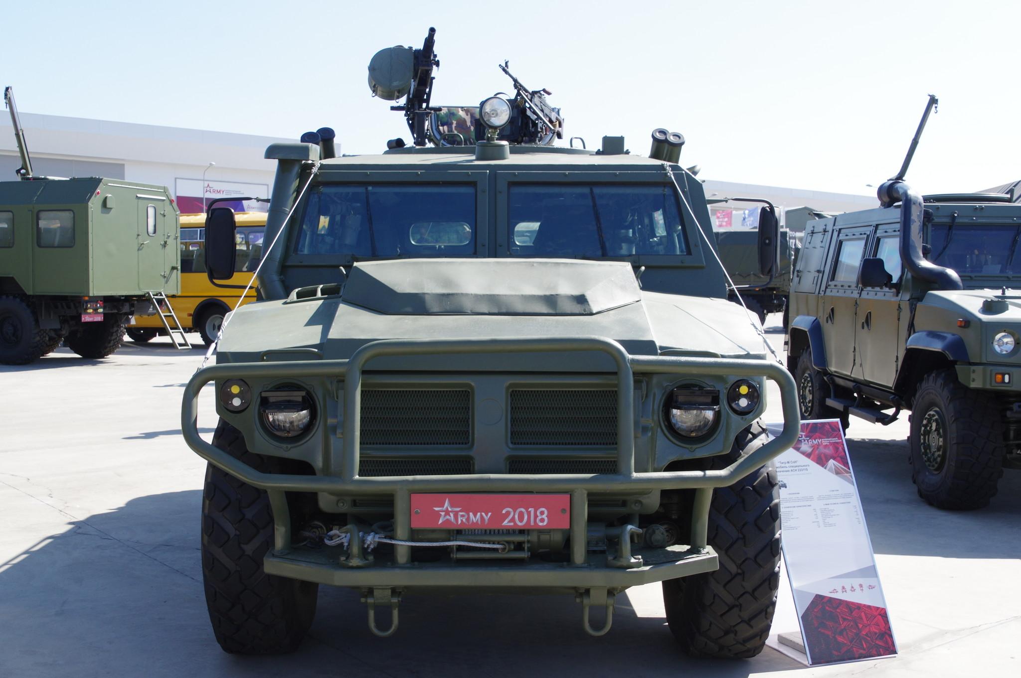 Автомобиль специального назначения АСН 233115 «Тигр-М СпН»
