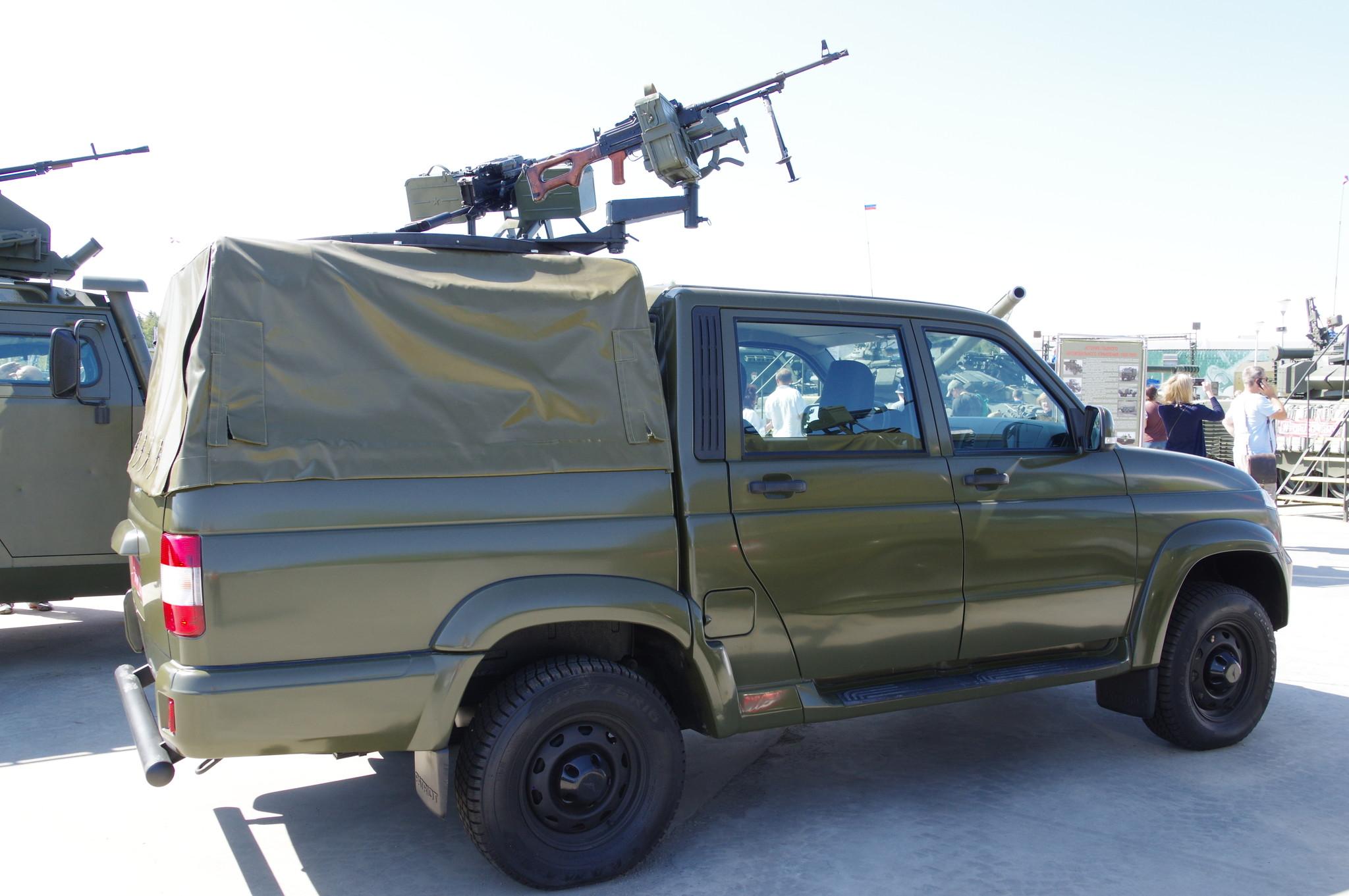 Автомобиль УАЗ-23632-148-65 «Пикап»