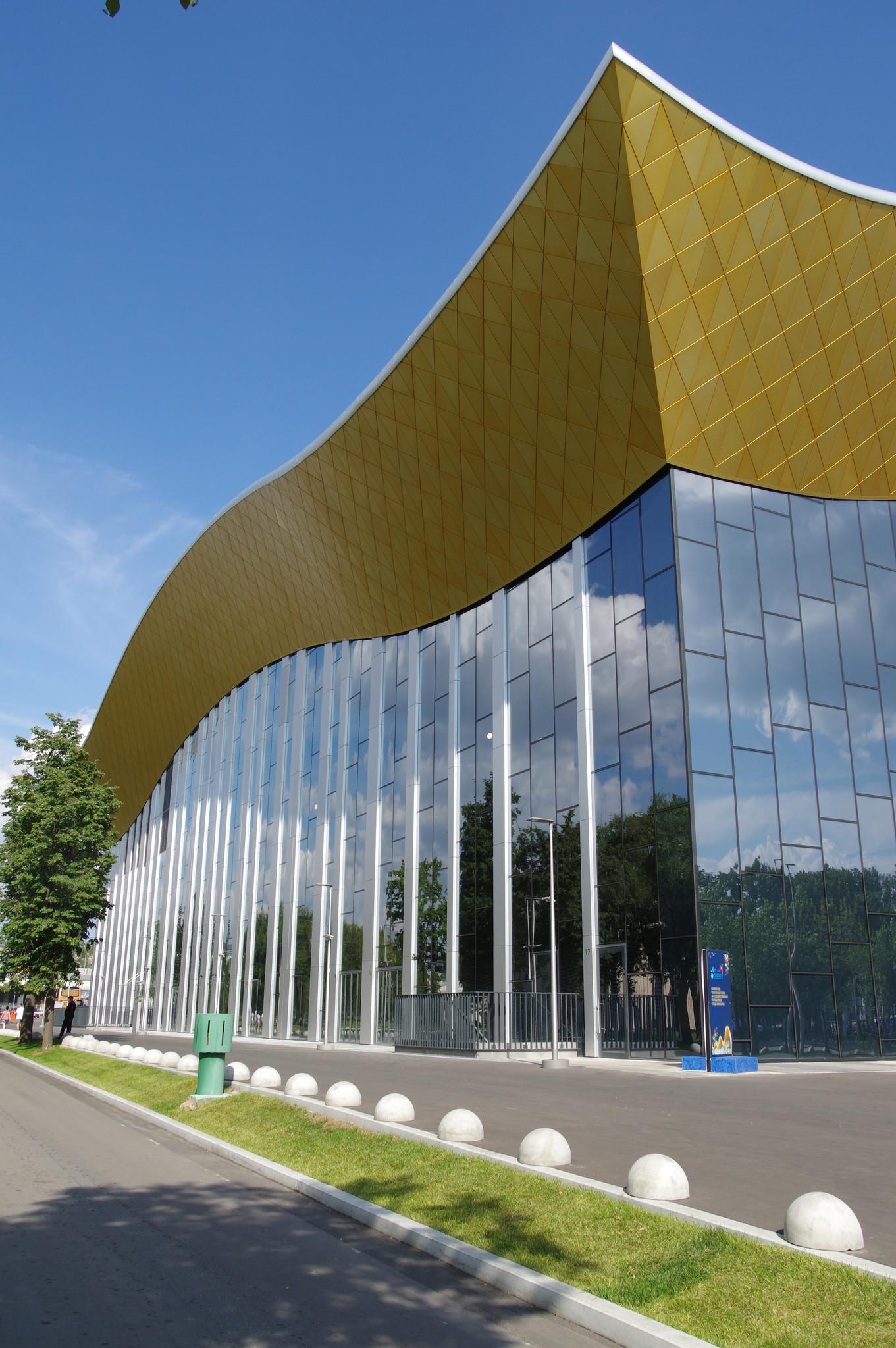 Центр художественной гимнастики в Лужниках