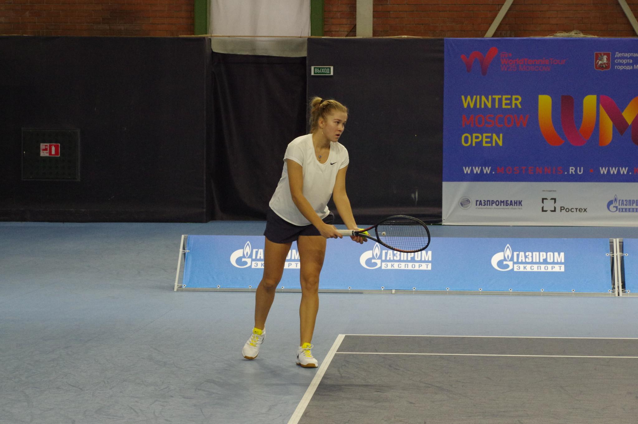 Российская теннисистка Софья Лансере