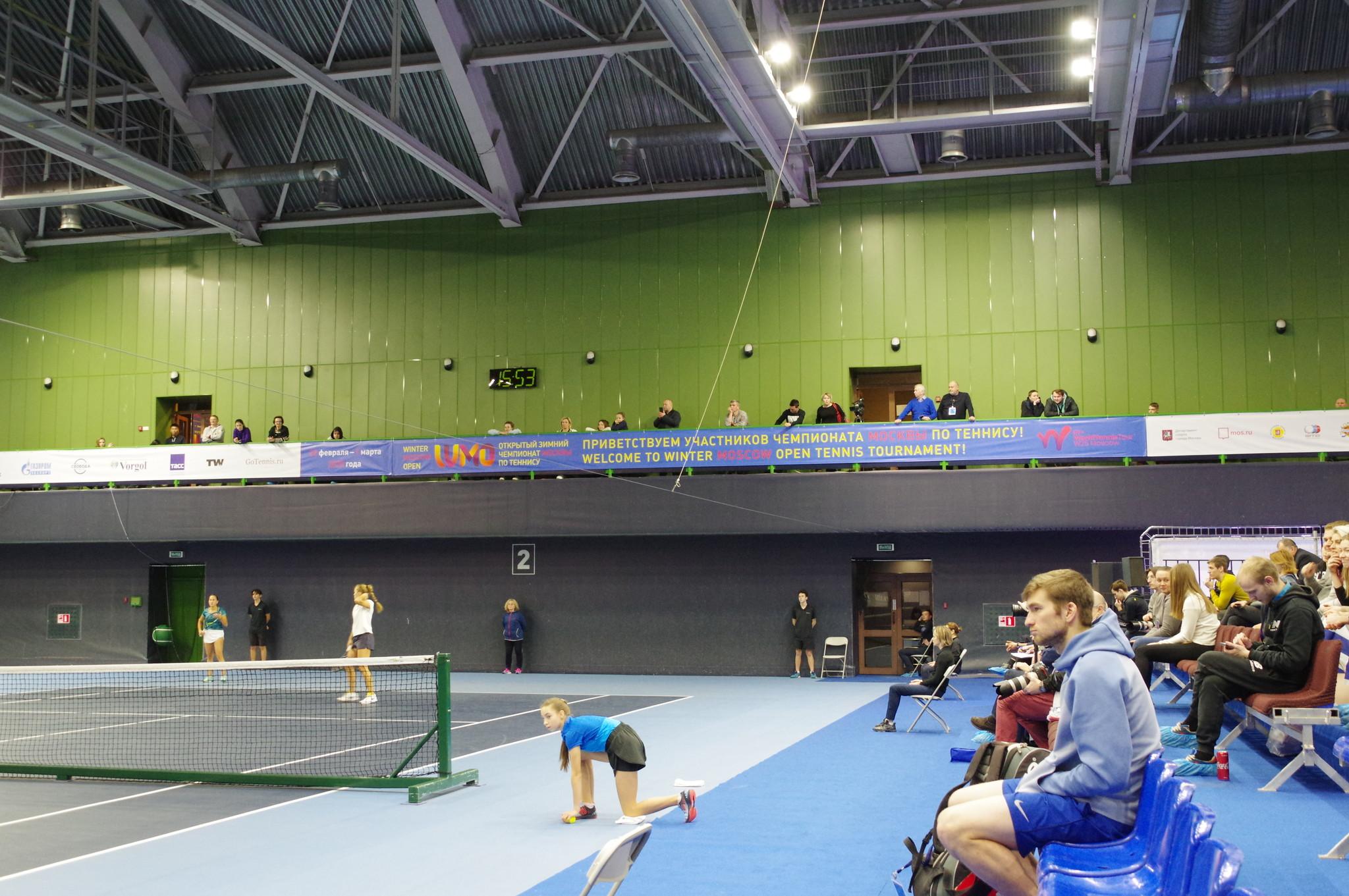 Открытый зимний чемпионат Москвы по теннису Winter Moscow Open 2020