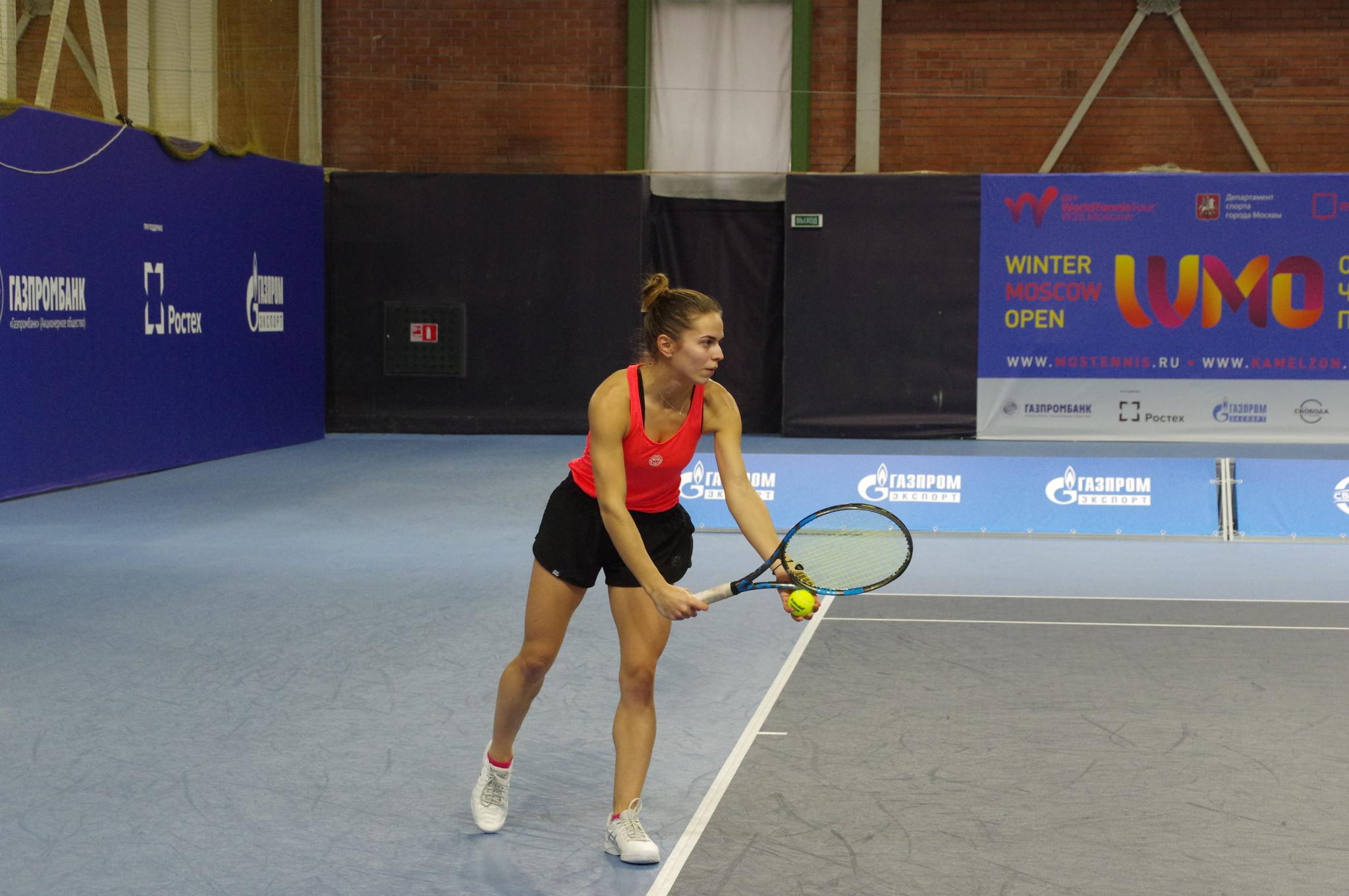 Греческая теннисистка Валентини Грамматикопулу