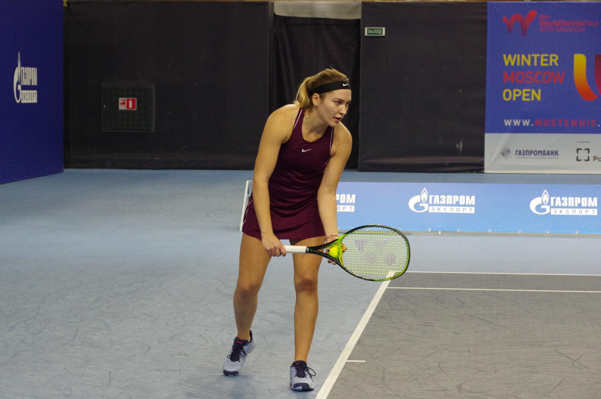 Российская теннисистка Натела Дзаламидзе