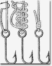 При вязке этого узла перед тем, как ввести в петлю ходовой конец, нужно сблизить...