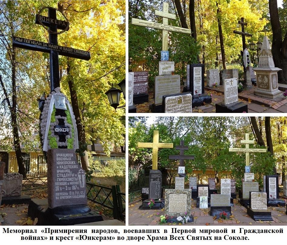 К 20-летию создания Мемориалов у Храма Всех Святых и Братском кладбище героев Первой Мировой войны. H-124
