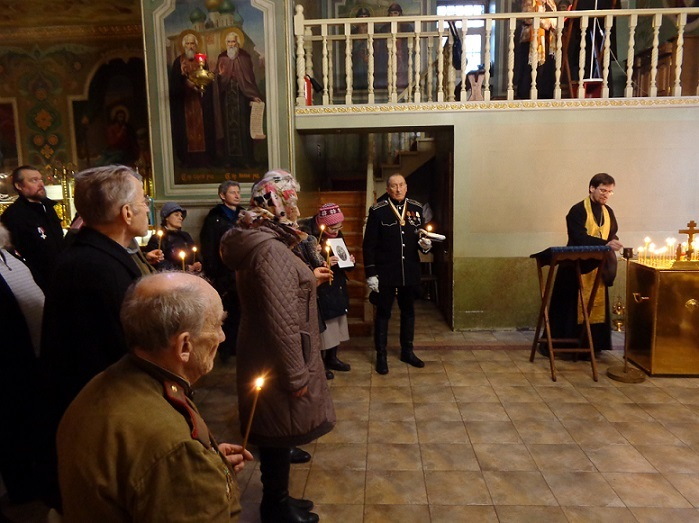 11 ноября на Братском некрополе героев Первой мировой войны открыли восстановленную надгробную плиту на месте погребения сестры милосердия Любови Константиновой. H-368