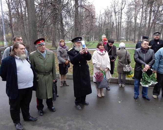 11 ноября на Братском некрополе героев Первой мировой войны открыли восстановленную надгробную плиту на месте погребения сестры милосердия Любови Константиновой. H-369