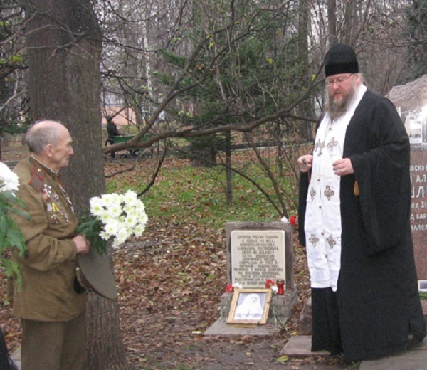 11 ноября на Братском некрополе героев Первой мировой войны открыли восстановленную надгробную плиту на месте погребения сестры милосердия Любови Константиновой. H-397