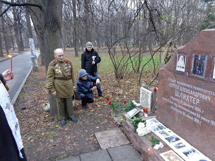 11 ноября на Братском некрополе героев Первой мировой войны открыли восстановленную надгробную плиту на месте погребения сестры милосердия Любови Константиновой. H-401