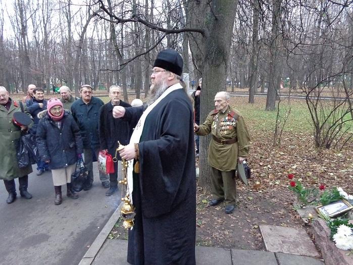 11 ноября на Братском некрополе героев Первой мировой войны открыли восстановленную надгробную плиту на месте погребения сестры милосердия Любови Константиновой. H-402