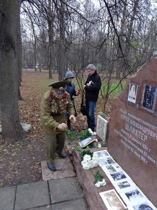 11 ноября на Братском некрополе героев Первой мировой войны открыли восстановленную надгробную плиту на месте погребения сестры милосердия Любови Константиновой. H-406