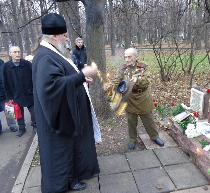 11 ноября на Братском некрополе героев Первой мировой войны открыли восстановленную надгробную плиту на месте погребения сестры милосердия Любови Константиновой. H-408