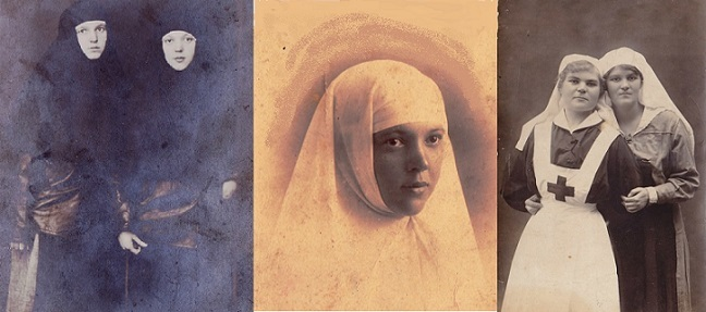 При участии Министерства культуры РФ на Братском кладбище героев войны 1914-1918 годов открыли надгробную плиту Сестрам милосердия Ольге Шишмаревой и Вере Семеновой. H-468