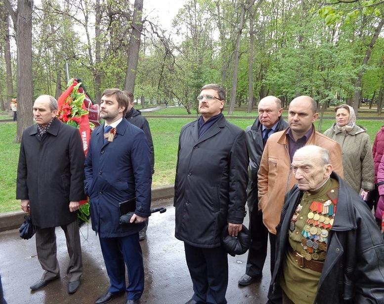 При участии Министерства культуры РФ на Братском кладбище героев войны 1914-1918 годов открыли надгробную плиту Сестрам милосердия Ольге Шишмаревой и Вере Семеновой. H-477