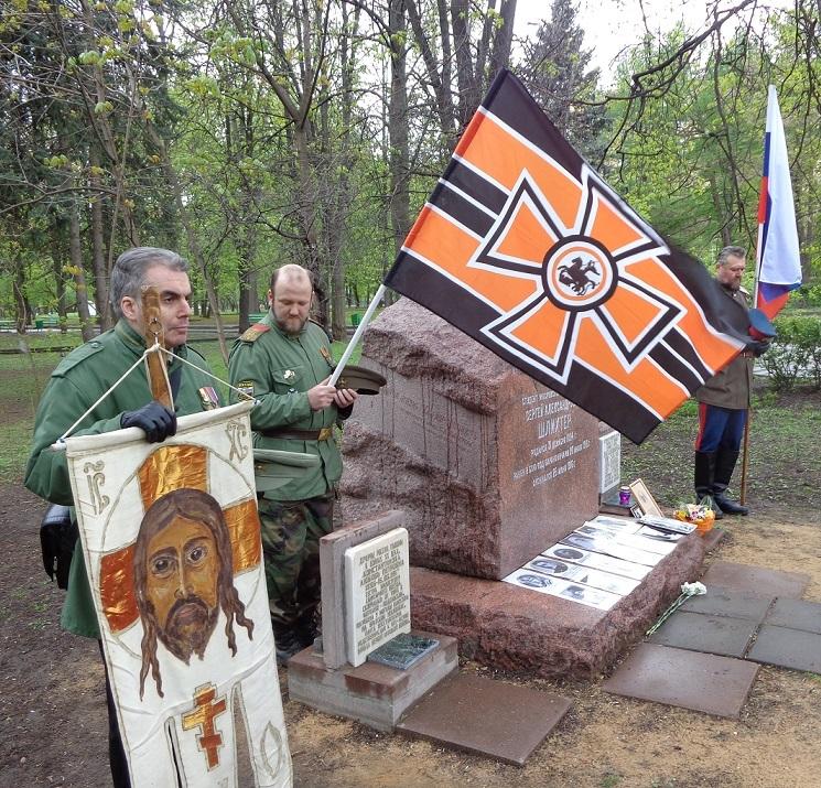 При участии Министерства культуры РФ на Братском кладбище героев войны 1914-1918 годов открыли надгробную плиту Сестрам милосердия Ольге Шишмаревой и Вере Семеновой. H-486