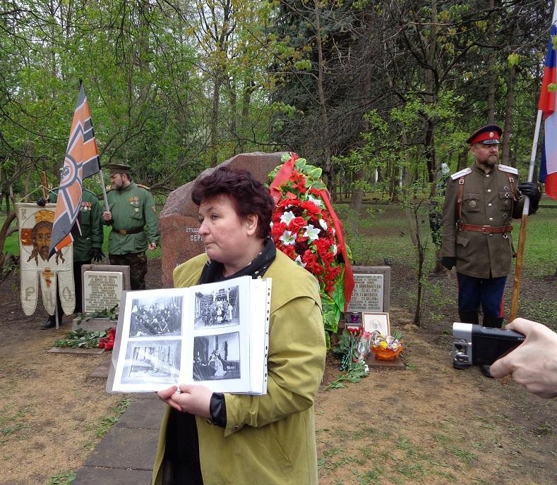 При участии Министерства культуры РФ на Братском кладбище героев войны 1914-1918 годов открыли надгробную плиту Сестрам милосердия Ольге Шишмаревой и Вере Семеновой. H-489