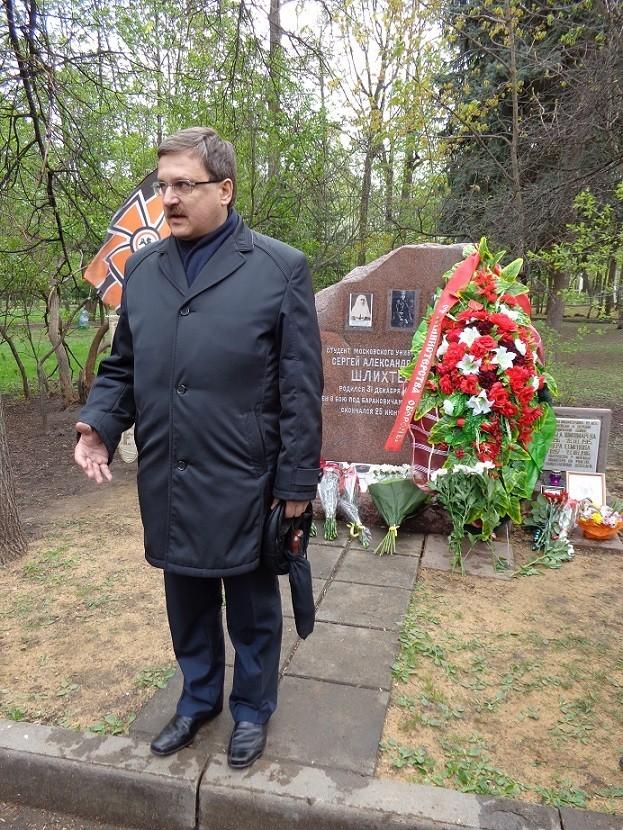 При участии Министерства культуры РФ на Братском кладбище героев войны 1914-1918 годов открыли надгробную плиту Сестрам милосердия Ольге Шишмаревой и Вере Семеновой. H-498