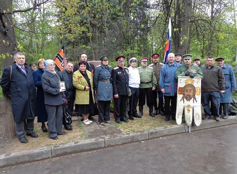 При участии Министерства культуры РФ на Братском кладбище героев войны 1914-1918 годов открыли надгробную плиту Сестрам милосердия Ольге Шишмаревой и Вере Семеновой. H-522
