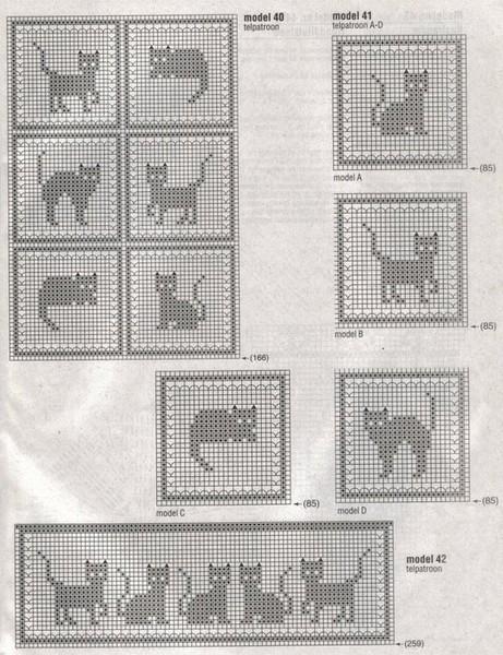 Комбинезончик с кошками