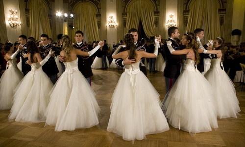Бал, танцы