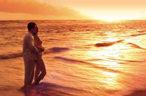 Ветер у моря. Любовь.
