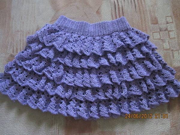 вязание схемы юбка для детей