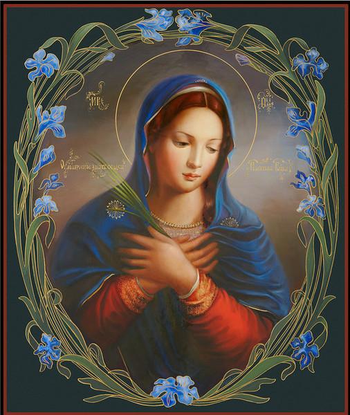 чистая, гифка иконы божьей матери хорошо, когда