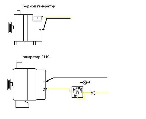 Фото №19 - схема генератора ВАЗ 2110