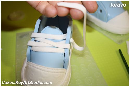 i 1030 Детские кеды/ботиночки/туфельки из мастики.