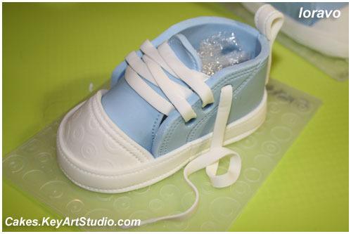 i 1031 Детские кеды/ботиночки/туфельки из мастики.