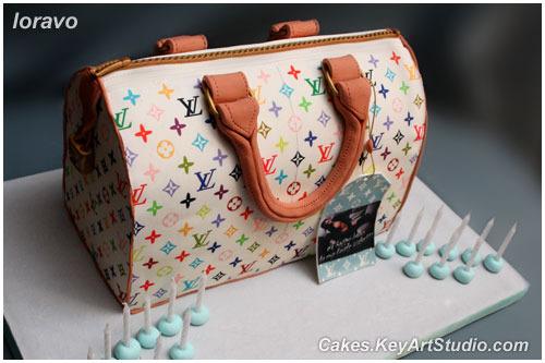 Торт-сумка Луи Виттон Louis Vuitton.