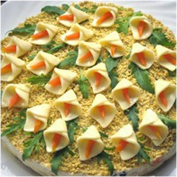 Кулинария салаты с фото каллы