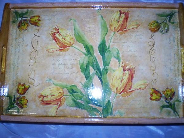 подно столик Тюльпаны 5