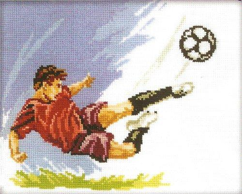 "Схема вышивки ""Футбол""!"