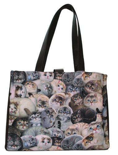 сумки с кошками - Интересные сумки.