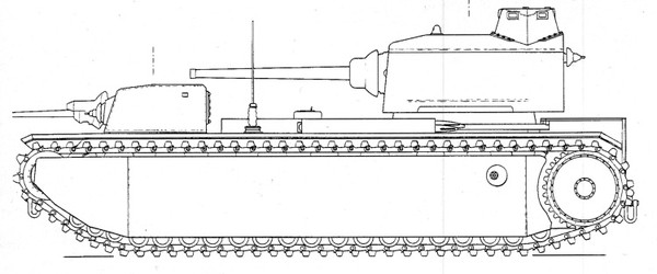 FCM F1 образца 1939 г. (чертёж)