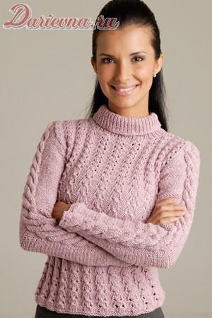 вязанные свитера женские фото