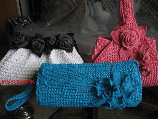 Самые модные сумки. вязание сумок из пакетов Опубликовано 27/08/2012.
