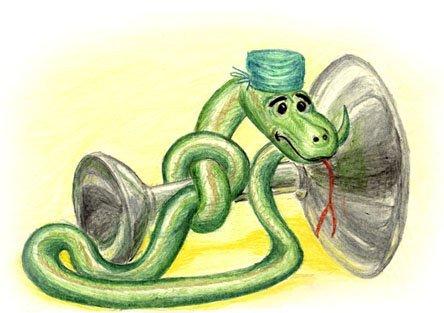 oljusik писал(а). Змей? как куда..Да он всегда на месте, зелененький.